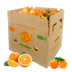 Caja 15 Kg Naranjas Mesa y Mandarinas