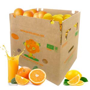 Caja 15 Kg Naranjas Zumo y Limones